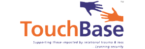 Logo and website link for TouchBase